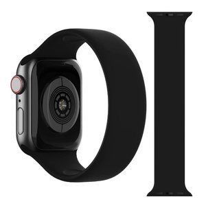 NEW Solo Loop Strap BLACK For Apple Watch